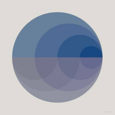 Poster Gradient   Blue