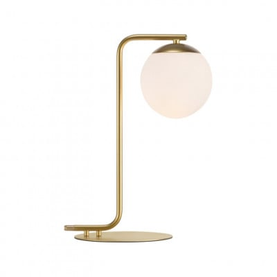 Tischlampe Grant | Messing