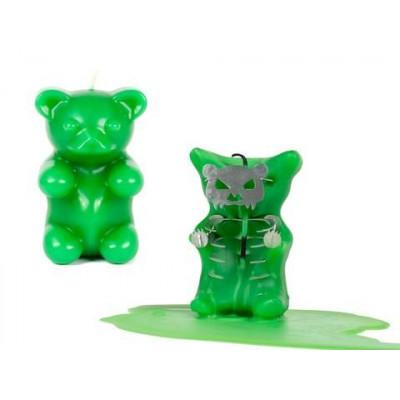 Gummy  Bear Candle - Green