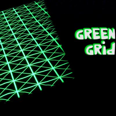 Decke Force Field | Grünes Gitter