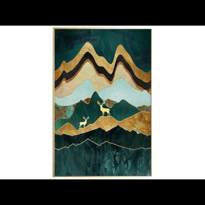 Malerei | Grüne Landschaft