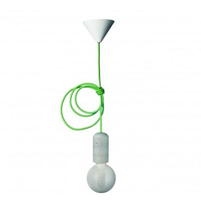 Concrete Pendant Lamp | Green