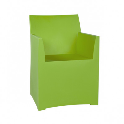 Rainbow Stool with cushion - Green