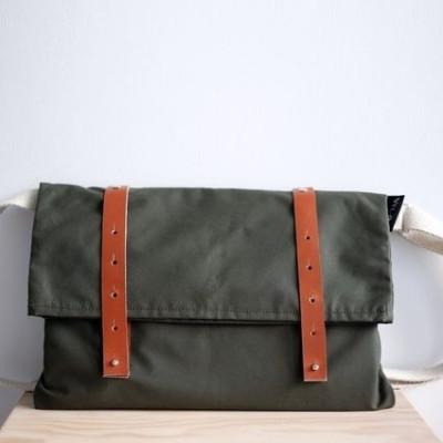 Nip Out Bag | Moss