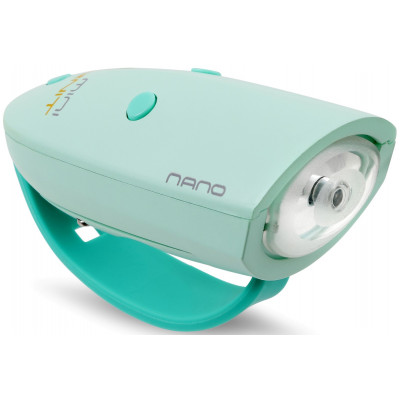 Fahrradlicht mit 15 Soundeffekten Mini Hornit Nano | Mint/Grün