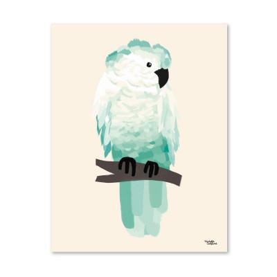 Grüner Kakadu - Poster
