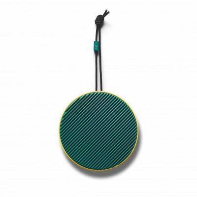 Tragbarer Bluetooth-Lautsprecher City | Zitronengrün