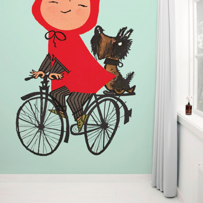 Wallpaper Stories | Riding My Bike In Green