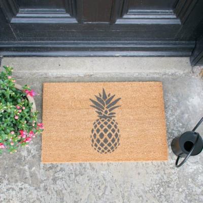 Fußmatte Grau | Ananas
