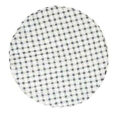 Reversible Playmat | Grey Gingham