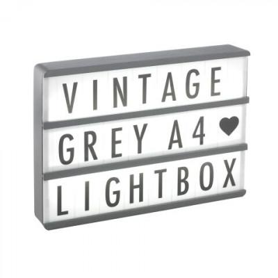 A4 Wood Lightbox | Grey