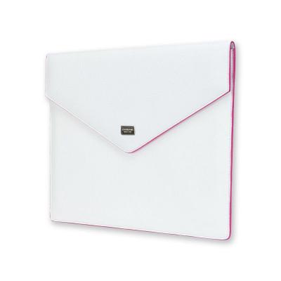 Ladies Tablet Envelope | Weiß & Rosa
