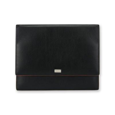 Tablet-Umschlag für Männer | Schwarz & Orange
