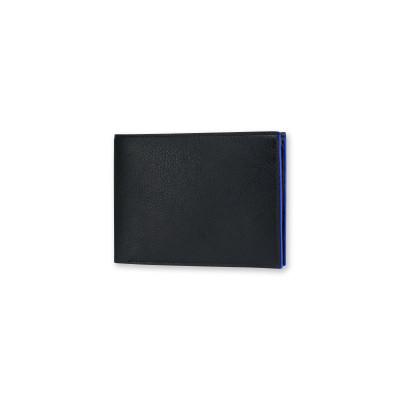 Brieftasche für Männer | Schwarz & Blau