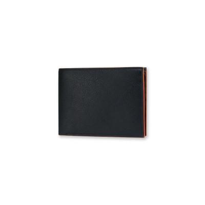 Brieftasche für Männer | Schwarz & Orange