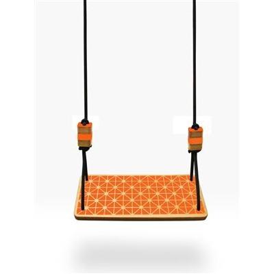 Gartenschaukel Sitzgitter | Orange