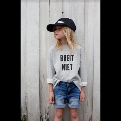Kinder-Pullover Boeit Niet | Grau