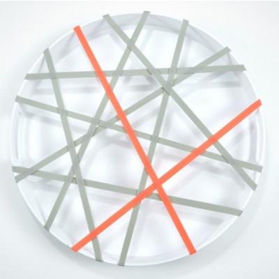 GRIP Tray Round   White