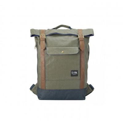 Backpack Balthazar   Green & Navy