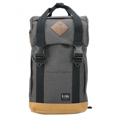 Backpack Arthur   Black and Camel