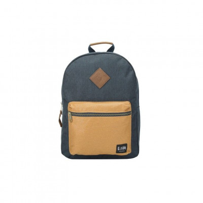 Backpack Blanche   Navy Camel
