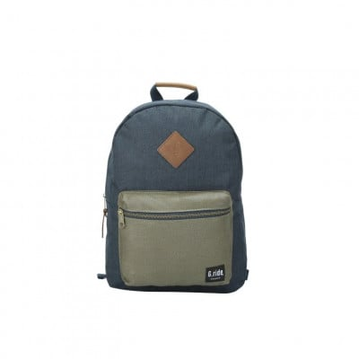 Backpack Blanche   Navy Olive