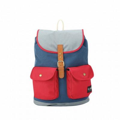 Backpack Chloe   Navy Red