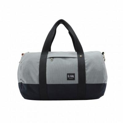 Roll Bag Clement   Grey Black