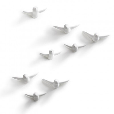 Vogelschwarm Wandhaken | Large.