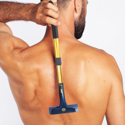 Back and Body Hair Removal Device
