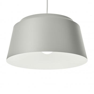 Groove Pendant Lamp   Light Grey