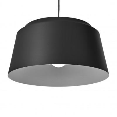 Groove Pendant Lamp   Black
