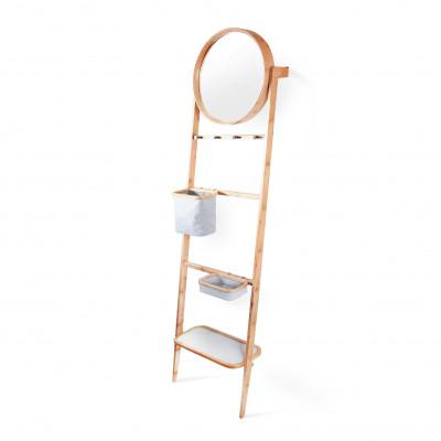 Grota   Schräges Lagerregal mit Spiegel