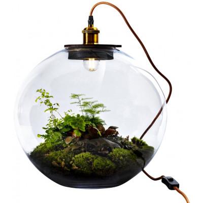 Tischlampe mit DIY Pflanze
