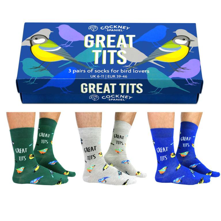 Socken Große Titten | 6er-Satz