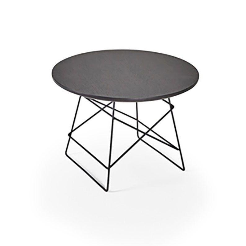 Grid Side Table Black | Medium