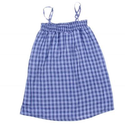 Strap Dress Blue