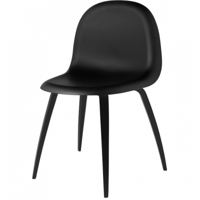 Gubi 5 Stuhl Schwarz