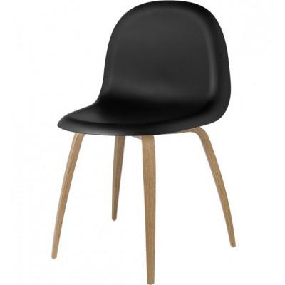 Gubi Stuhl 5 Schwarz/Eiche