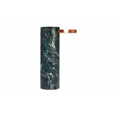Salut Beistelltisch | Kupfer & grüner Marmor