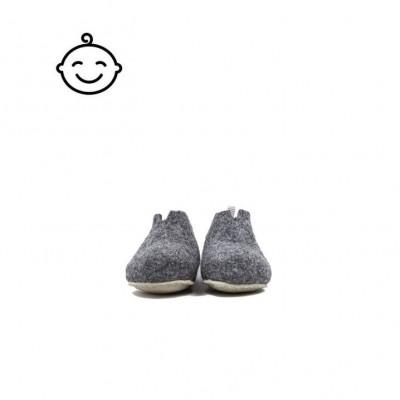 Kids Slippers Gus | Dark Grey