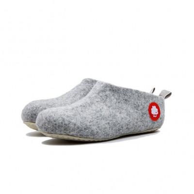 Slippers Gus | Light Grey