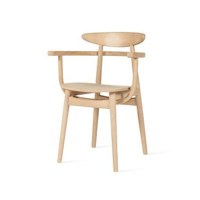 Chair Teo w/ Armrest | Oak