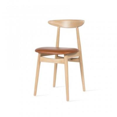 Stuhl Teo gepolstert | Eiche