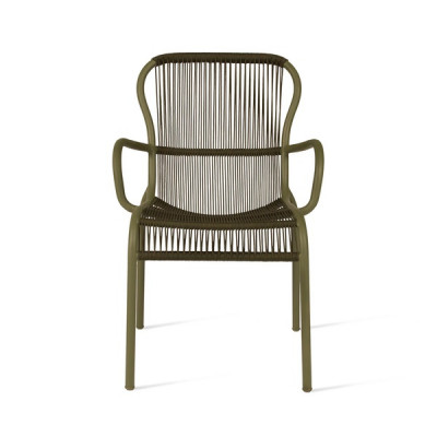 Outdoor Dining Chair Rope Loop | Moss Green