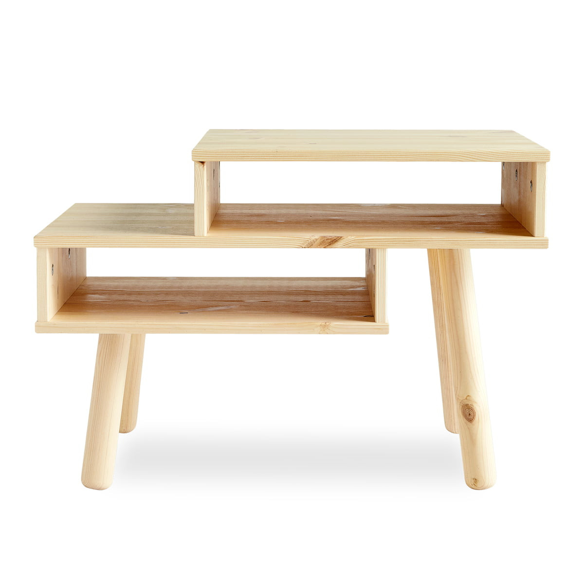 Beistelltisch Hako | Helles Holz