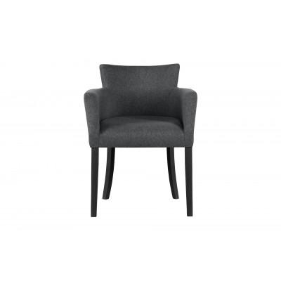 Stuhl Santal | Schwarz & Anthrazit