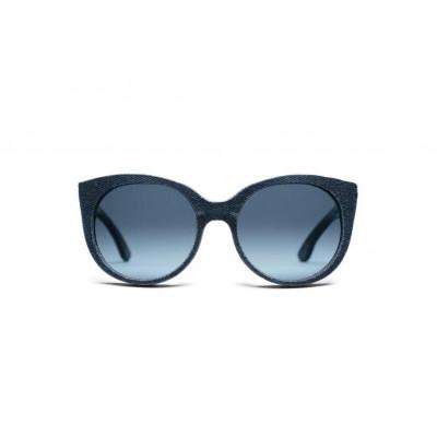 Halley Denim Sunglasses | Marine Blue