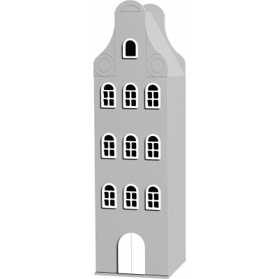 Amsterdam Neck-gable Closet   Silber