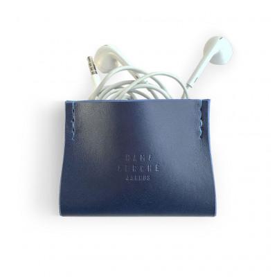 Earphone Case   Blue